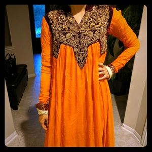 Pakistani/Indian embroided suit